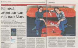 Enkeltje Mars in AD Utrecht